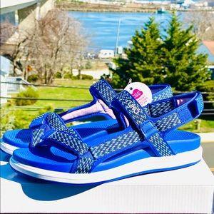 🌻Ryka Lapis Sandals, Blue (New)